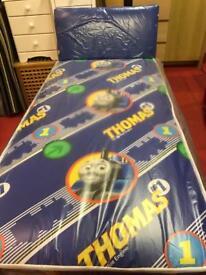 Tomas single divan bed
