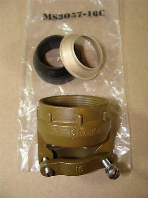New Amphenol Ms3057 16C Mil C 5015 Mil Spec Strain Relief Connector Cord Clamp
