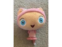 Little girls plush toy waybaloo soft pink teddy
