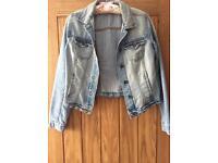 Short New Look Denim Jacket - Size 10