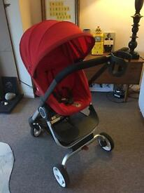 Stokke Scoot tomato red