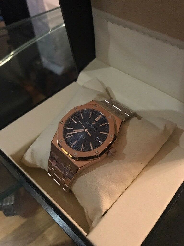 dc63f86caa0 The Audemars Piguet Royal Oak 41mm Rose Gold