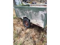 Trailer spares or repairs