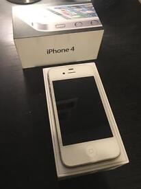 Apple iPhone 4 8GB unlocked white