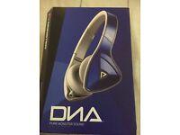 Monster DNA headphones - Cobalt Blue/Gray