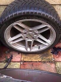 "Bmw Ac Schnitzer 19"" Alloy type 3 Wheel Can Post"