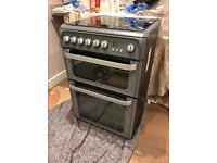 One Yr Old Hotpoint Ultima Double Oven - Gas