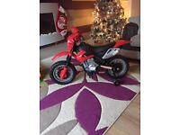 Kids electric motor bike