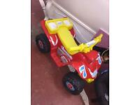Rechargeable toy car