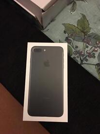 Apple iPhone 7 plus 128gb Matt black