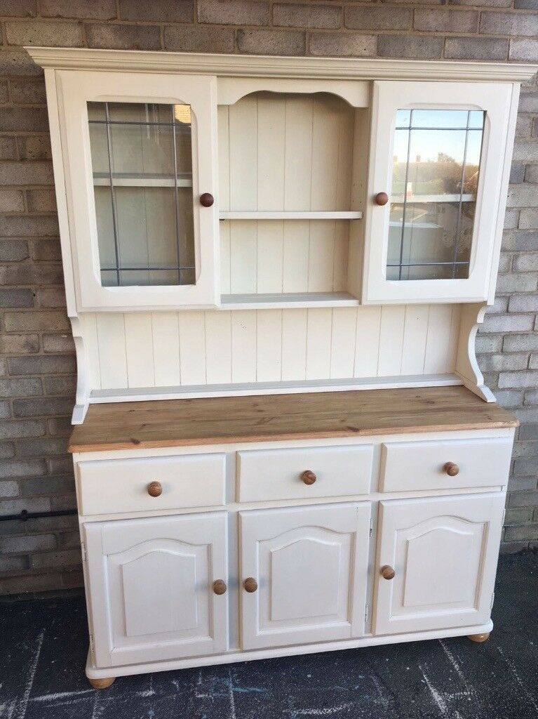 Welsh dresser solid pine farmhouse country style rustic glass welsh dresser solid pine farmhouse country style rustic glass doors planetlyrics Gallery