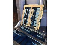 3 wooden pallets free