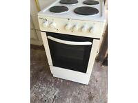 White Bush 50cm Electric Cooker Fully Working Order £20 Sittingbourne