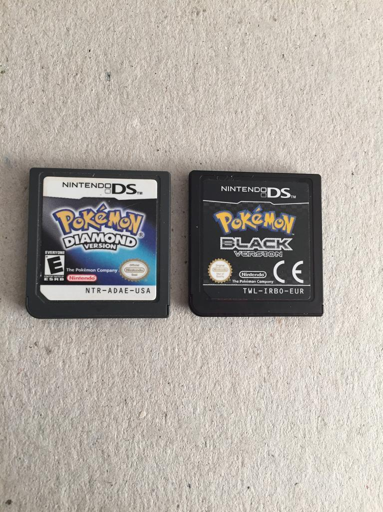 Pokemon nintendo ds games