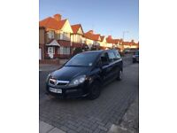 Vauxhall Zafira 2007, cheap seven seater car