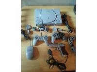 PlayStation 1 console bundle - 100% working - Great condition