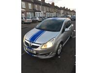 Vauxgall corsa 1.4desIgn very low mileage leathers satnav