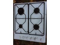 4 burner gas hob in good working condition