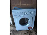 Washer Dryer Hotpoint built in unit