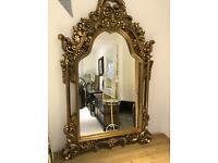 Gold Ornate Mirror new