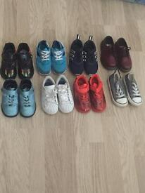 Boys shoes all either size 7.5 or 8