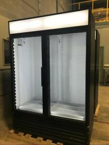 Two (2) Glass Door Freezers and Coolers.  True GDM 49F and TRUE GDM-49
