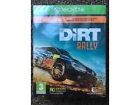 Rare SteelBook Limited Edition Dirt Rally New Sealed For Xbox One
