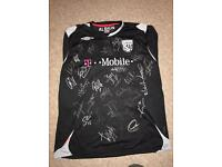 West Brom signed shirt