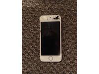 iPhone 5s damaged