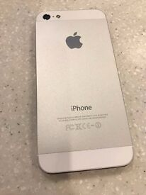 Apple iPhone 5 32GB White - unlocked from new By Manufacturer (never locked) superb condition!