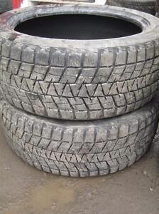 2 Bridgestone Blizzak DM-V1  285/45r22 à 10/32