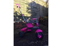 Smart Trike 3 in 1 pink great condition