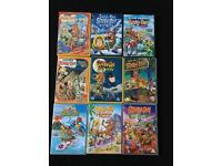 9 Scooby Doo DVDs