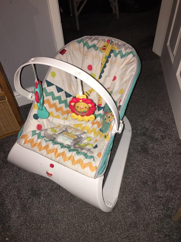 Fisher price bouncy chair