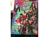 Brand new and sealed suicide squad DVD