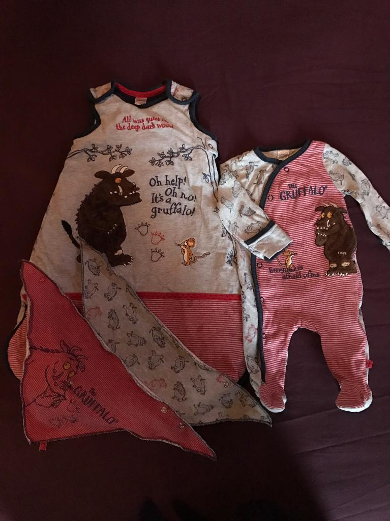 0-3 month Gruffalo set