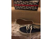 Vans size 7 only worn a few tomes