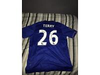 Signed John terry shirt