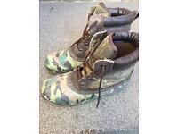 Carp fishing boots