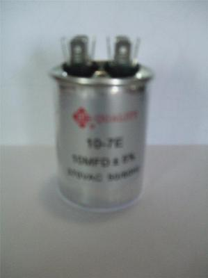 10 Mfd 370vac Ac Round Electric Motor Run Oil Filled Capacitor 10 Uf Hvac Volts