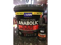 USN Muscle Fuel Anabolic 4kg All in One + FREE USN 19-Anabol Testo £40