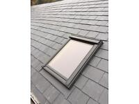 Any size Velux roof windows supplied and fitted for £450