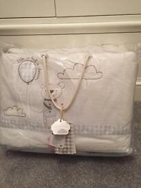 Mamas & Papas baby bedding set & curtains