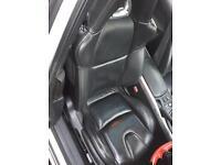 Mazda Rx8 black leather seats