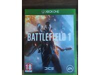 Battlefeild 1 xbox one game