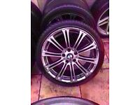"Bmw m3 mv2 19"" silver alloy wheel Can Post"