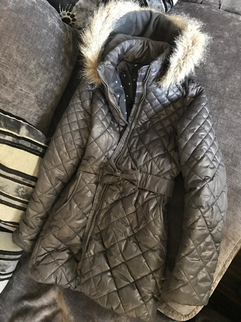 Girls NEXT winter padded coat age 11-12 £10
