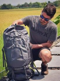 OSPREY 65L - Used once - Backpacking