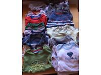 Large bundle of boys clothes 9-12 / 12-18 months