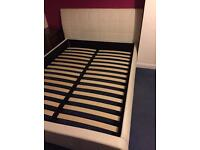 King size bed frame bed
